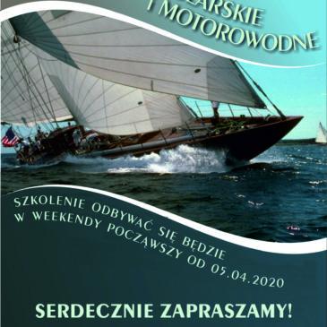 Szkolenie żeglarskie i motorowodne